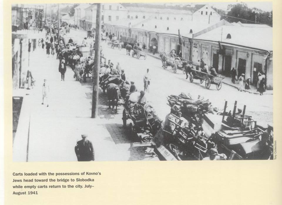 Senasis turgus. 1941 m. Turgaus pastatėliai (Kultūros Paveldo Centras).