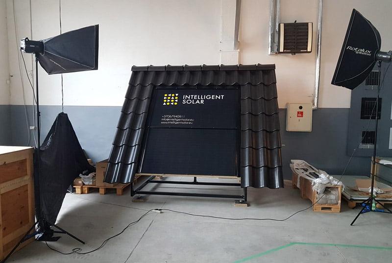 saulės moduliai