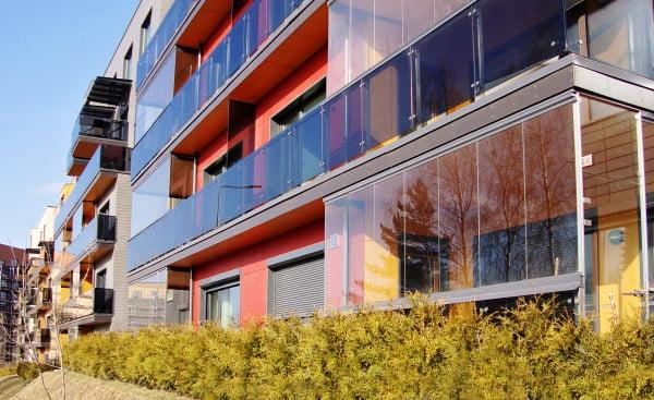 balkonai terasa