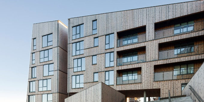 """""""The Waterfront"""" kompleksas. """"AART architects"""" nuotr."""