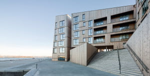 """The Waterfront"" kompleksas. ""AART architects"" nuotr."