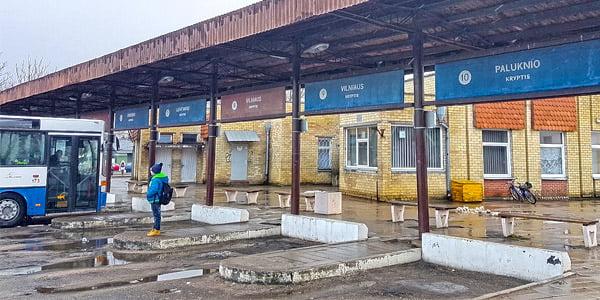 Trakų autobusų stotis. Trakų r. savivaldybės nuotr.