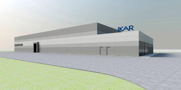 """Ikarai"" gamyklos pirmojo etapo vizual."
