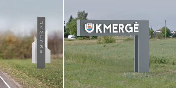 Ukmergės savivaldybės vizual.
