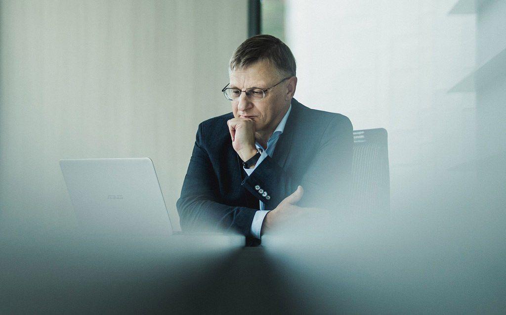 Dr. Vladimiras Popovas. VGTU nuotr.