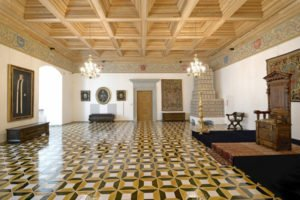 Renesansinė audiencijų menė, arba Žemutinė reprezentacinė salė prieš pokyčius.