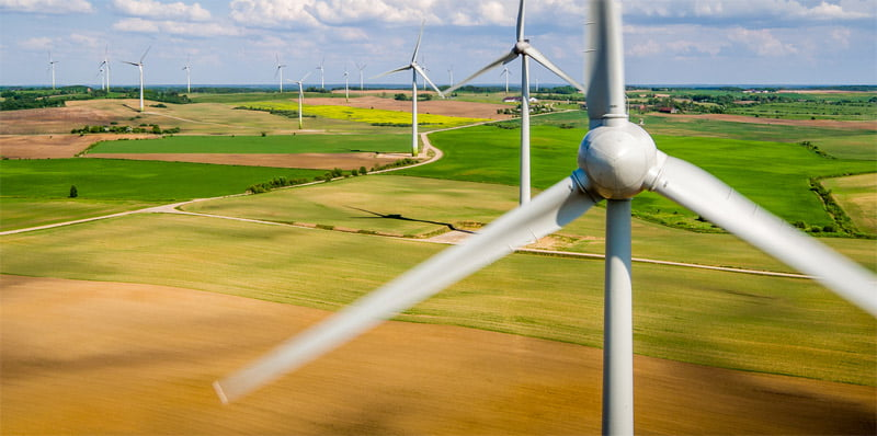 Vėjo elektrinės.
