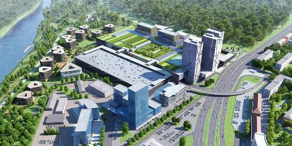 2013 metais ir sostinės valdžia, ir projekto plėtotojai svarstė, ar naujas prekybos centras – tai, ko reikia Vingio parko pašonėje. Bendrovės vizual.