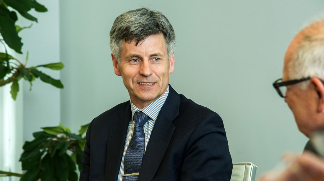 """VšĮ """"Skaitmeninė statyba"""" direktorius Dalius Gedvilas. VGTU nuotr."""