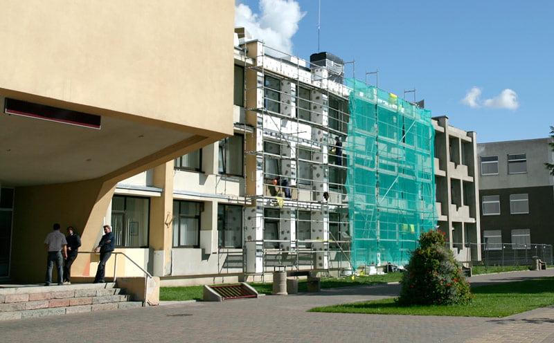viešųjų pastatų atnaujimui