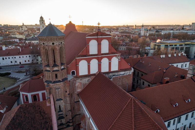 Vilniaus senamiestis. S. Žiūros nuotr.