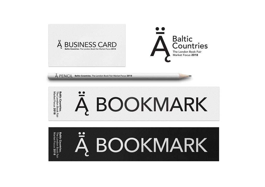 2 vieta: Vizualinis identitetas 2018 m. Londono knygų mugės jungtiniam Baltijos stendui.