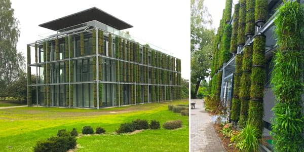 VU Botanikos sodo žaliasis pastatas<br>(rekstata.lt nuotr.)