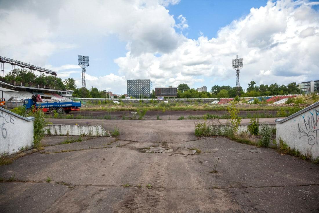 """""""Žalgirio"""" stadionas. Sauliaus Žiūros nuotr."""