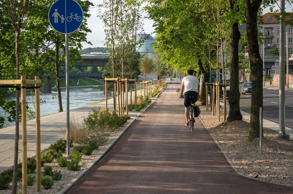 dviračių takų plėtra